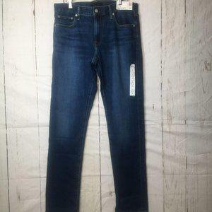 Uniqlo Mens Jeans Slim Straight 32 X 34 NWT